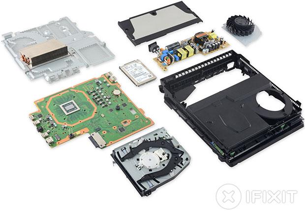PlayStation 4 Pro Parts
