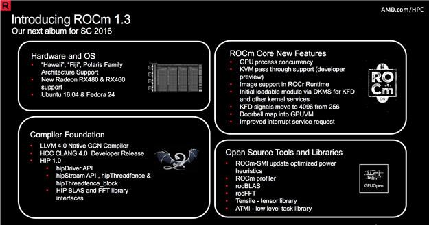 rocm13 features