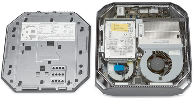 HP Z2 Mini Inside