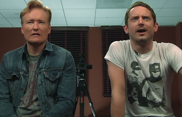 Conan O'Brien and Elijah Wood Final Fantasy XV