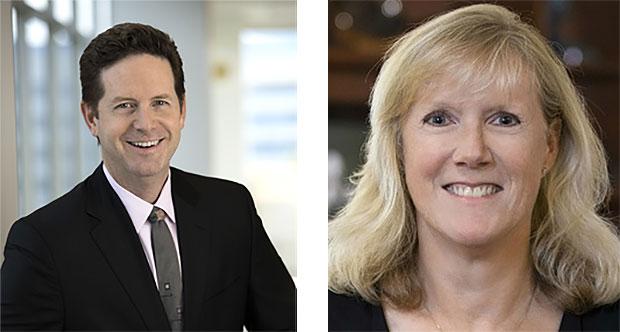 Doug Davis and Kathy Winter