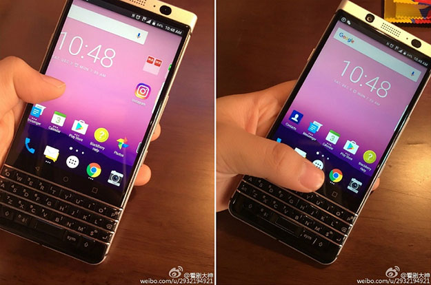 BlackBerry 'Mercury' QWERTY Android Smartphone Gets Spied