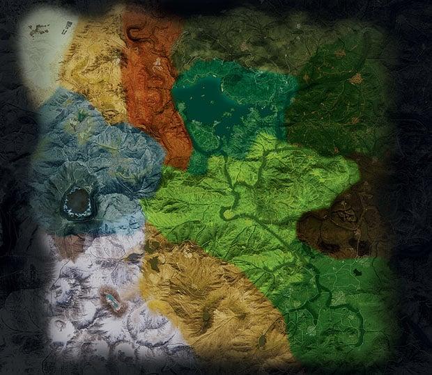 Ghost Recon Wildlands Map Terrain