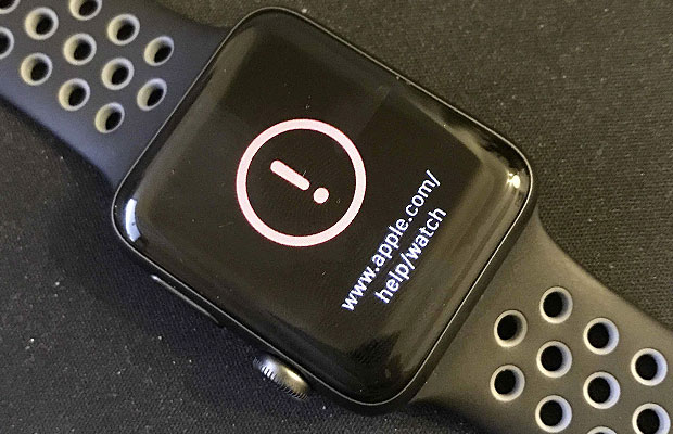 Borked Apple Watch