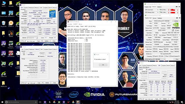 GALAXY GeForce GTX 1060 HOF Screenshot