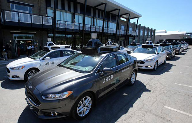 uber ford fusion