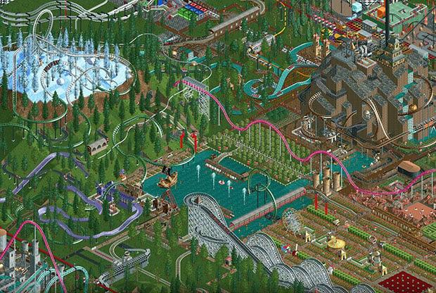 Rollercoaster Tycoon 01