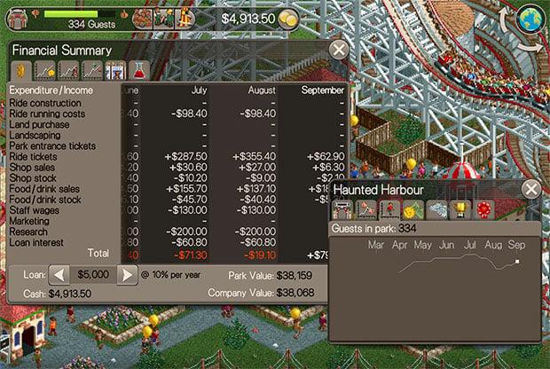 Rollercoaster Tycoon 04