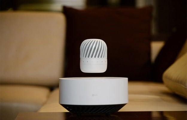 levitating speaker
