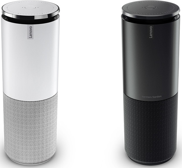 Lenovo Smart Assistant Black and White
