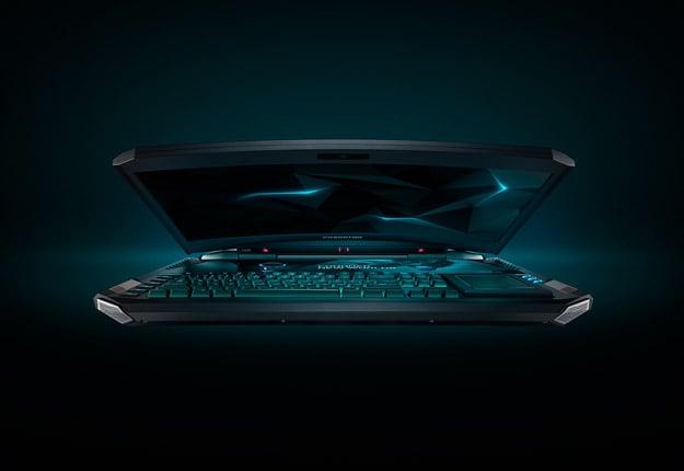 Acer Predator 21 X GX21 71 moodshot touchpad