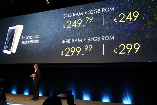 Honor 6X Price