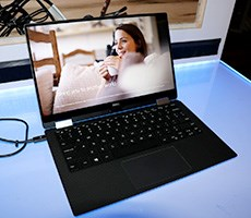 Hands On With Dell's XPS 13 2-in-1 Convertible At CES 2017
