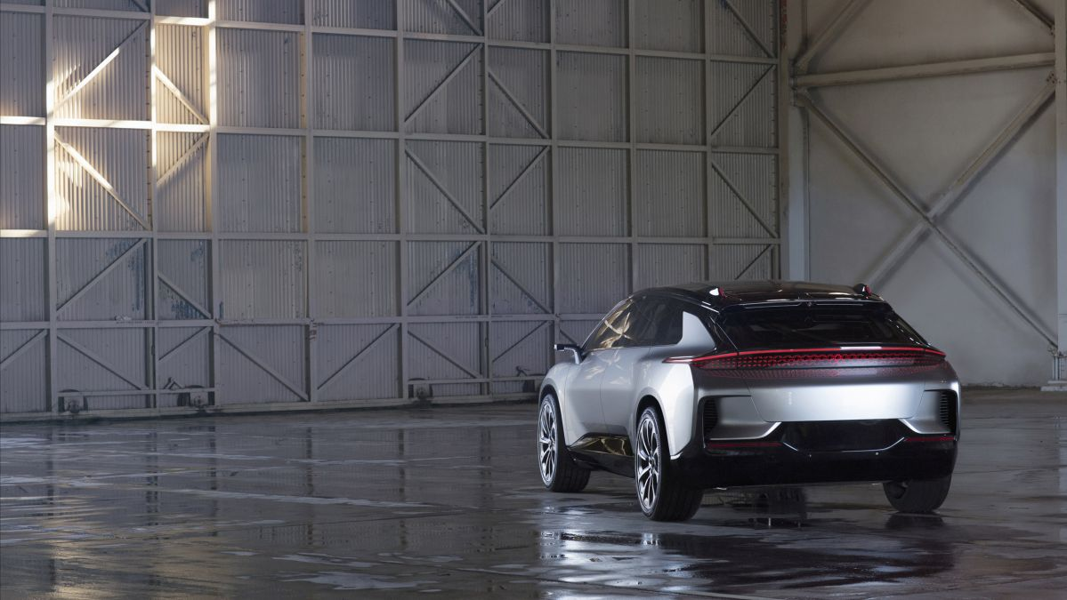 Faraday Future FF 91 EV Reportedly Secures Over 64000 Reservations Following CES Debut