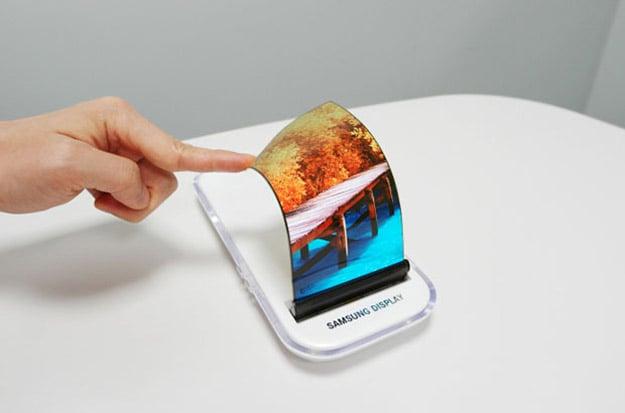 Samsung Display Bendable Display