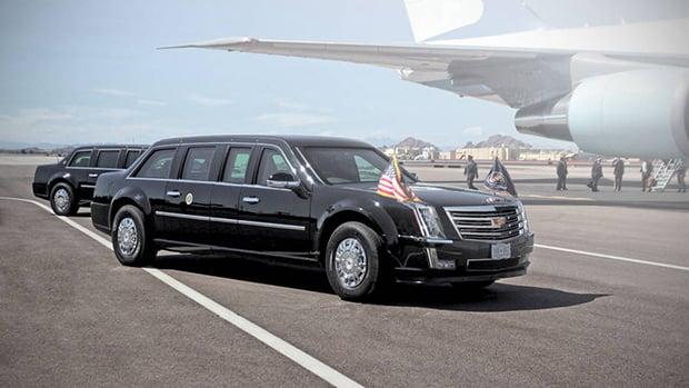 Cadillac One 2017 mockup