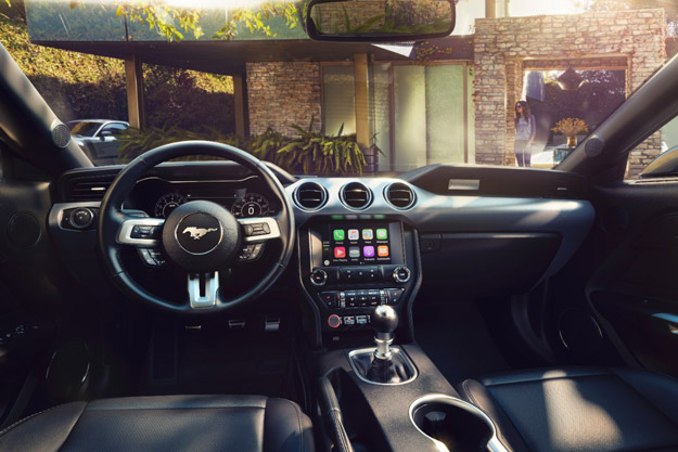 New Ford Mustang Interior 1