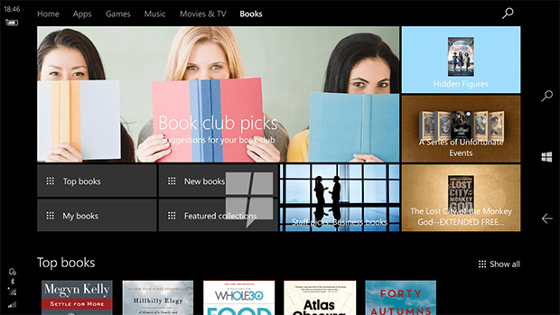 Windows e-books