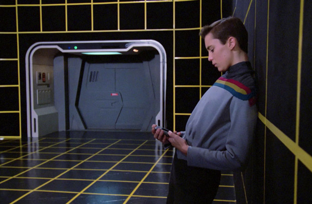 wesley crusher holodeck