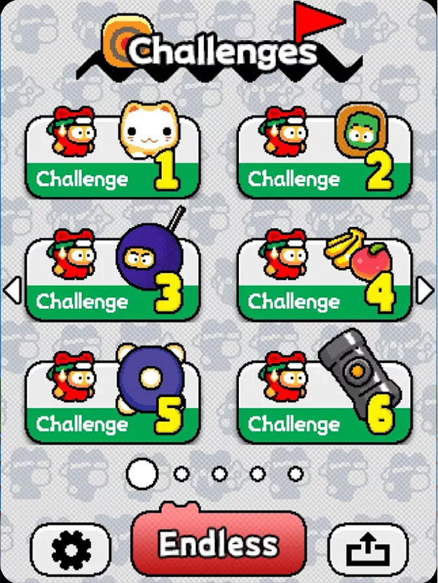 list of challenges