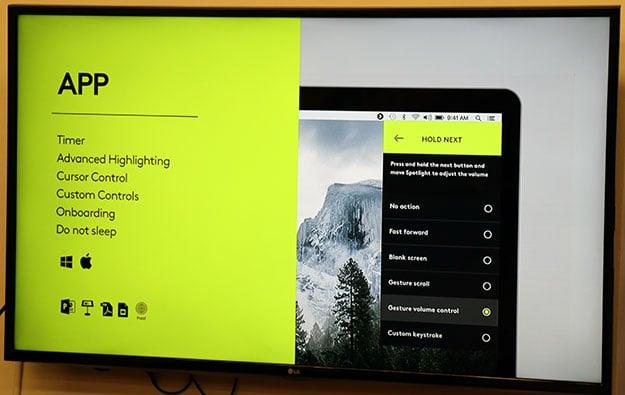 Logitech Spotlight App