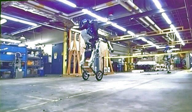 boston d wheeled robot