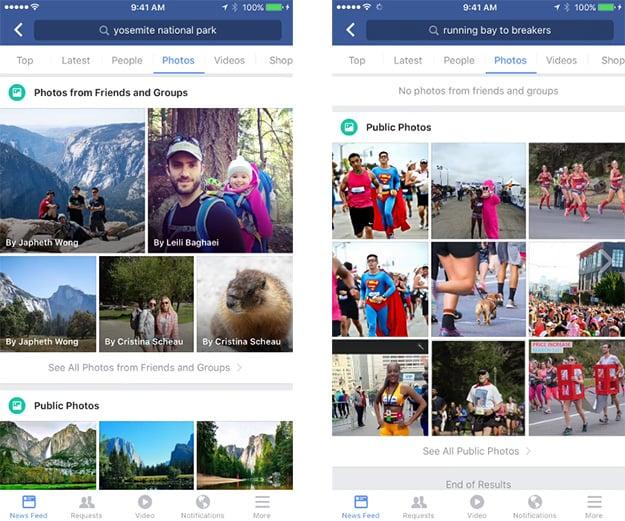 Facebook Photo Search