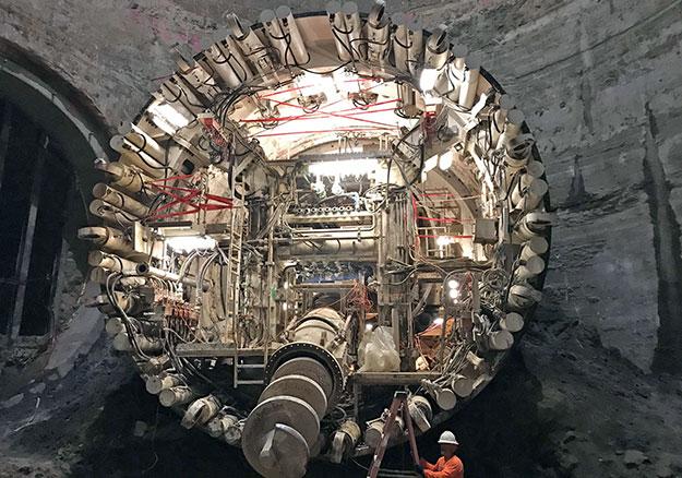 Elon Musks Tunnel Boring Machine