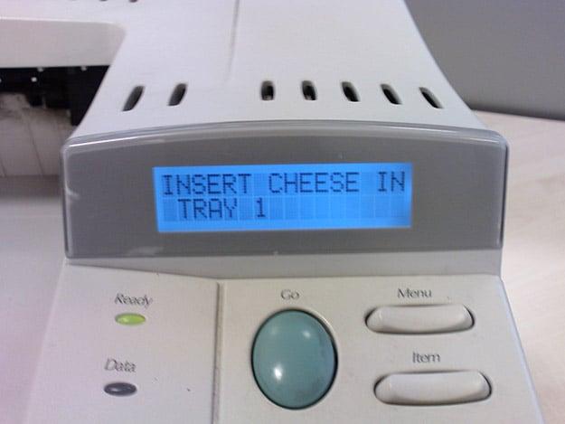 insert cheese