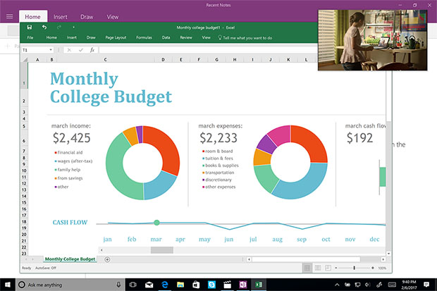 Windows 10 Compact Overlay