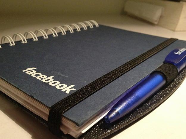 Facebook Notebook