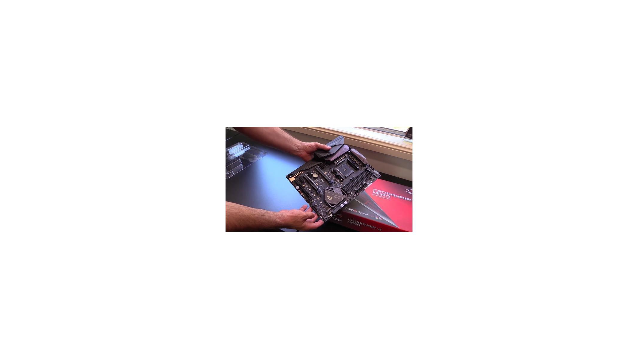 ASUS ROG Crosshair VI Hero AMD AM4 X370 Ryzen Motherboard