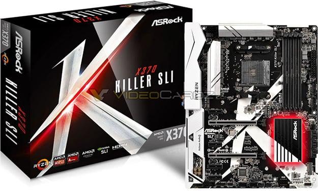 ASRock X370 Killer SLI Motherboard