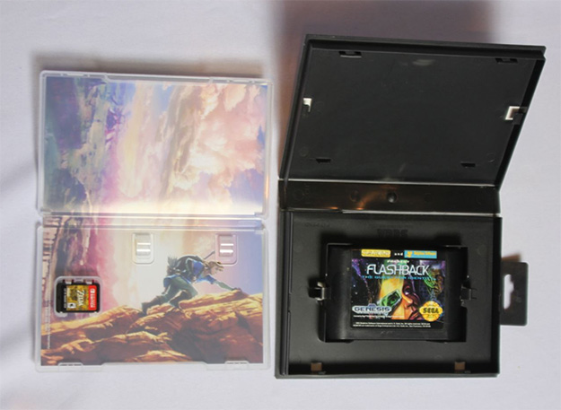 Nintendo Switch and Sega Genesis Packaging
