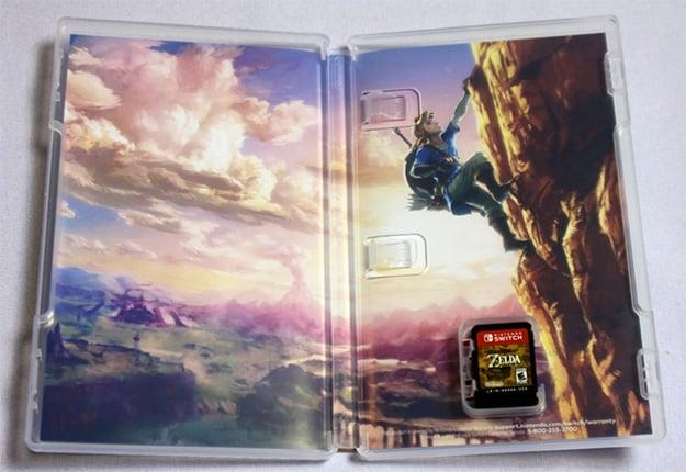 Nintendo Switch Zelda Packaging