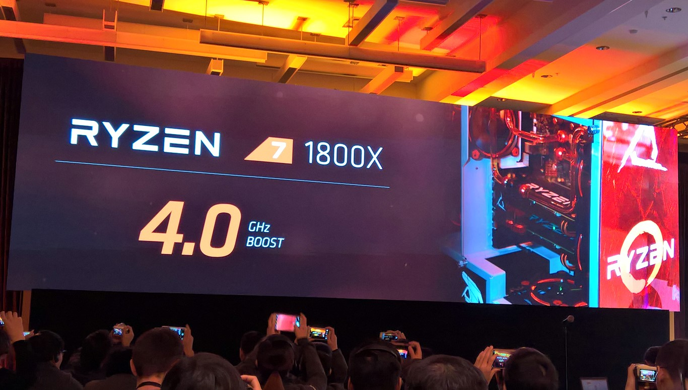 AMD Demos Ryzen 7 Benchmarks Smoking Intel, Reveals Chip Details, Clock Speeds, And Pricing
