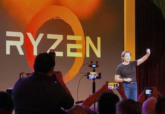Chip Ryzen AMD ra mắt
