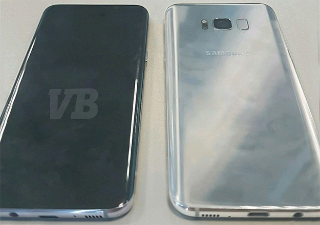 Galaxy S8 Front and Back