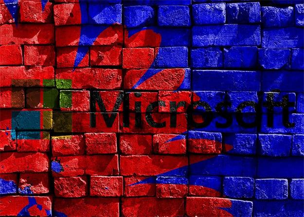 Microsoft Wall