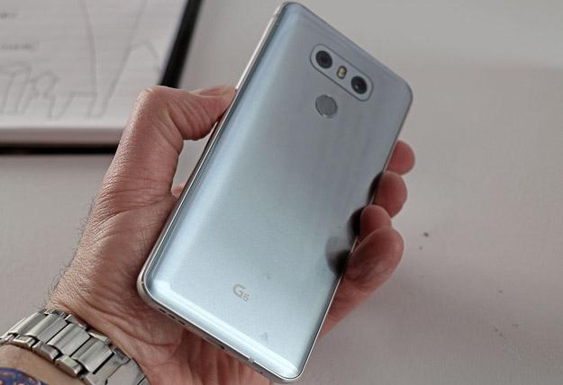 LG G6 Back