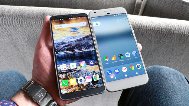 LG G6 vs Google Pixel LX