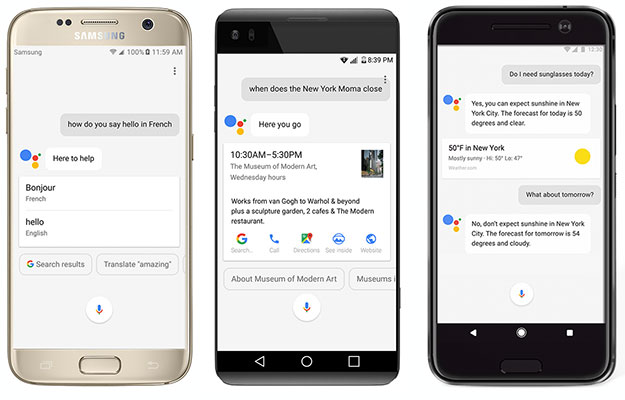 google assistant on multiple devices