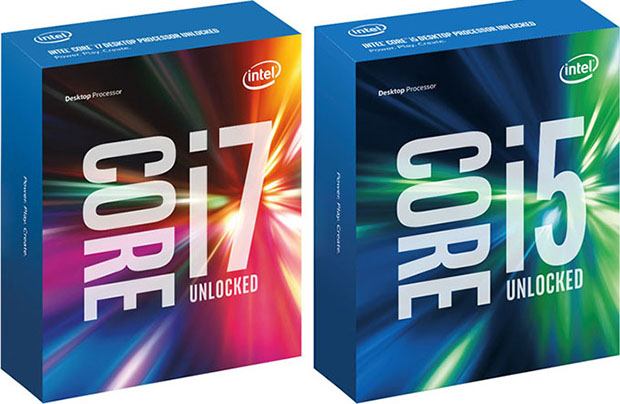 Intel Skylake Box Art