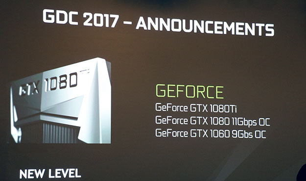 GeForce GTX 1080 and 1060 Overclocked GDDR5X