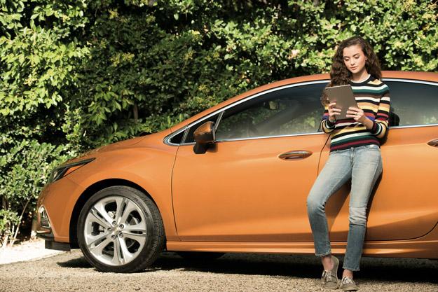 Cruze in vehicle OnStar 4GLTE Wi Fi