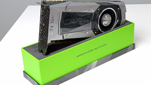 GeForce GTX 180Ti Card Front With Box