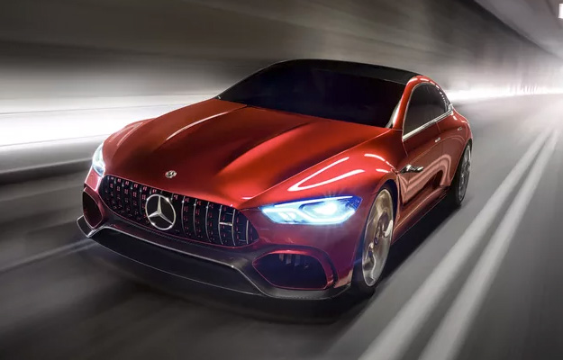 Mercedes-AMG GT Angled