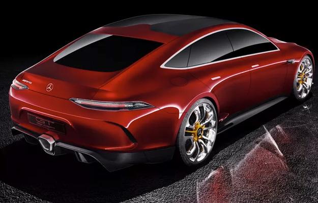 Mercedes-AMG GT Concept Rear