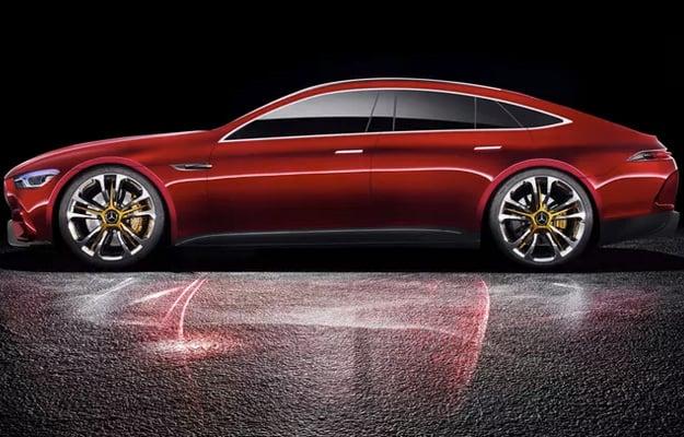 Mercedes AMG-GT Concept Side
