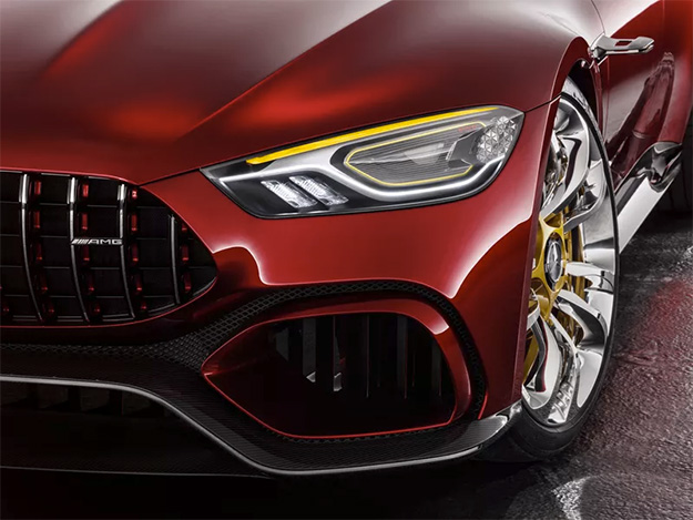 Mercedes AMG-GT Concept Headlight